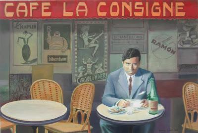 Pintura y literatura: Las ciudades de Ramón Gómez de la Serna vistas por Damián Flores. Por Fernando Castillo