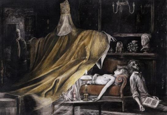 Santiago Caruso, el ilustrador despiadado.