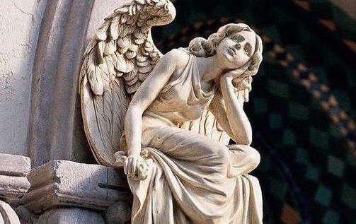El ángel que me acompaña