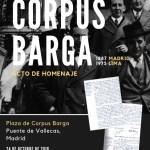 Corpus Barga en el corazón de Vallecas (Madrid)