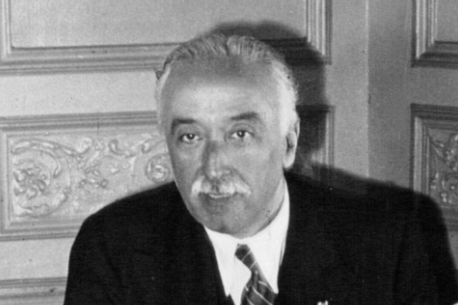 Homenaje al político y jurista español Niceto Alcalá-Zamora