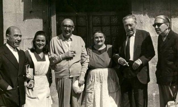 Los dimes y diretes de Álvaro Cunqueiro a la salida del restaurante «El Mosquito» de Vigo