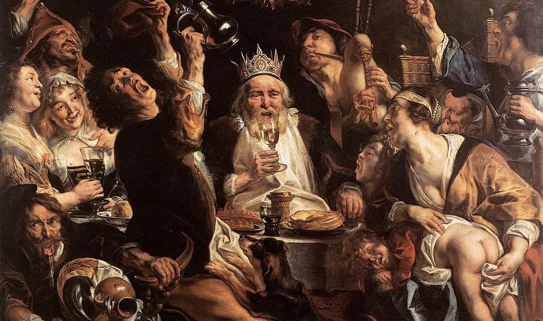 El banquete anual de la Cofradía de Sepultureros. Mathías Enard