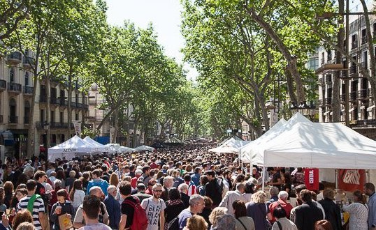 Barcelona, la ciudad de los libros. Sergio Vila-Sanjuán