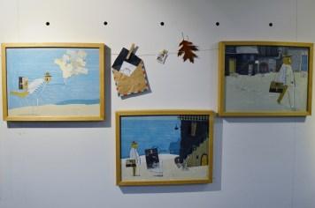 Exposición de ilustracións de UNHA ÚLTIMA CARTA en LIBROS PARA SOÑAR