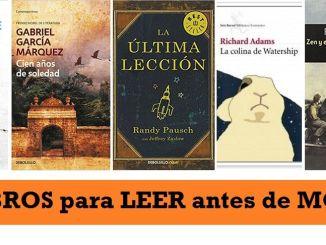 Libros Recomendados para Leer 1 Vez en la Vida