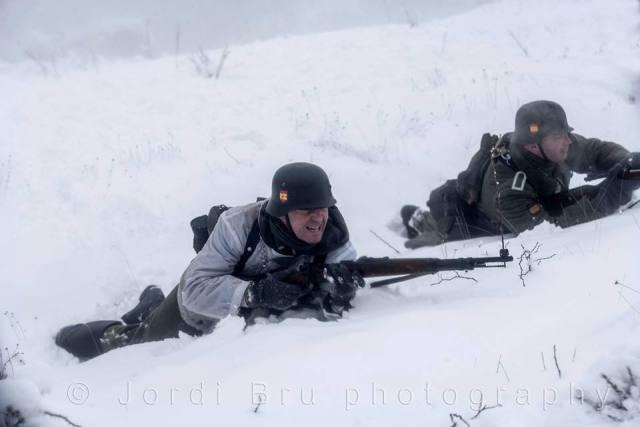 Recuerdos en la nieve: Noche de guardia