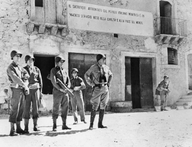 Patton y los sicilianos