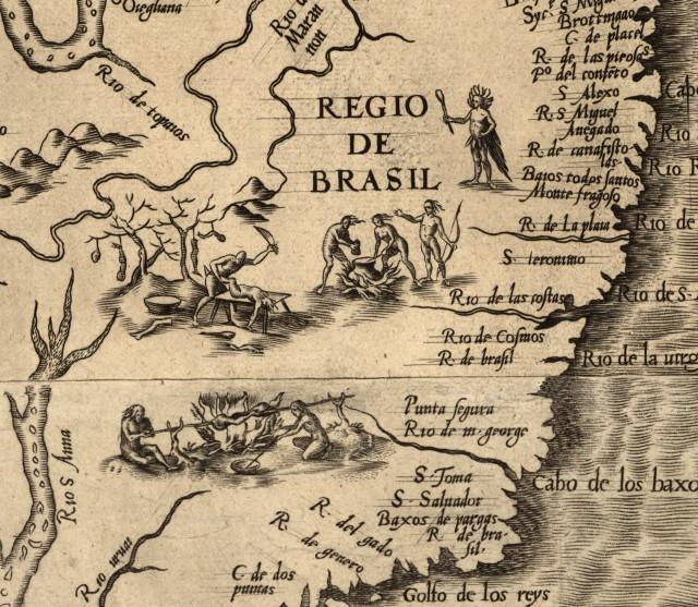 Brasil y sus gentes según Antonio Pigafetta.
