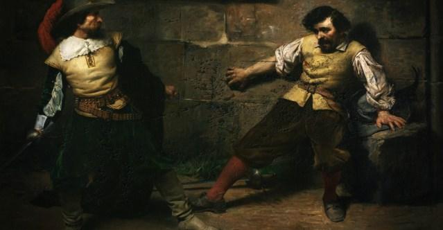 Miguel de Cervantes, prófugo de la justicia.