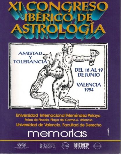 XI CONGRESO IBÉRICO DE ASTROLOGÍA