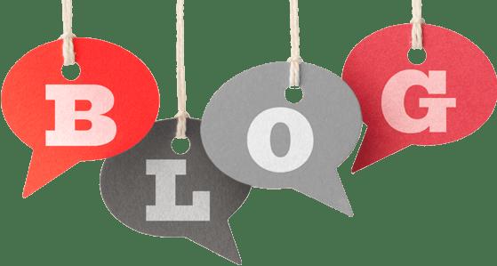 imagen con letras que forman blog