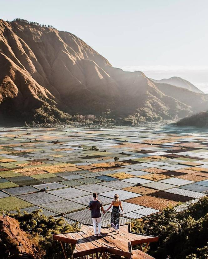 Pesona Tempat Wisata Bukit Selong Lombok Si Pemikat Hati