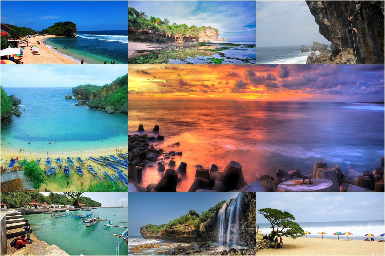 17 Pantai Cantik Di Yogyakarta Untuk Referensi Liburanmu.