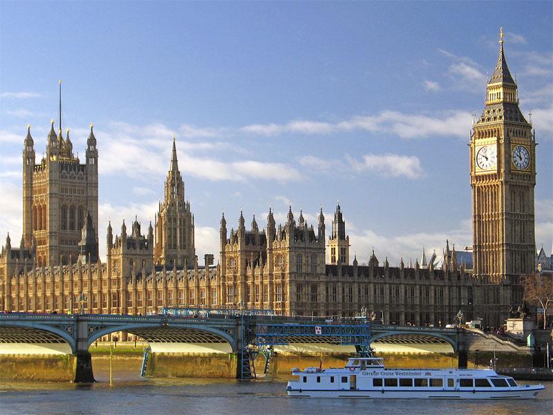 Salah satu tempat wisata populer di Inggris