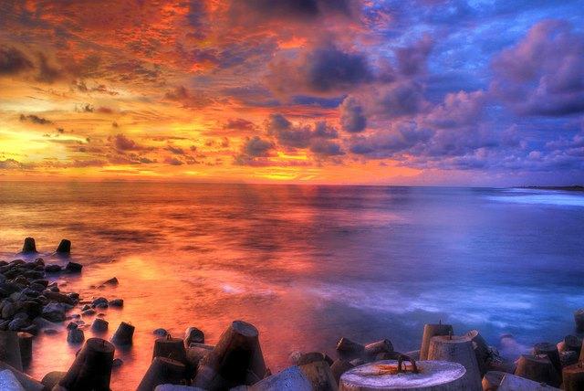 Pantai Glagah, Di Yogyakarta.