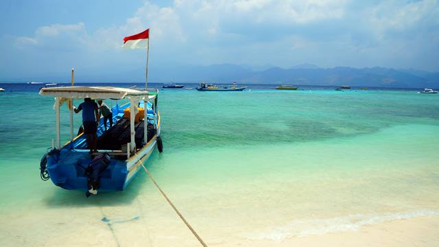 Gili Trawangan can tempt anyone who wants to relax on the island.