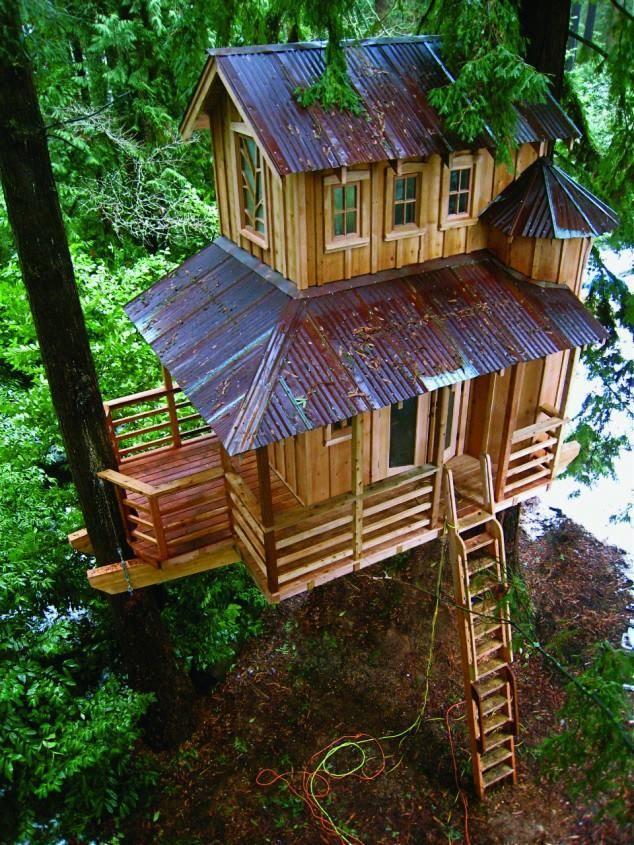 Liburan Di Rumah Pohon Yang Sederhana