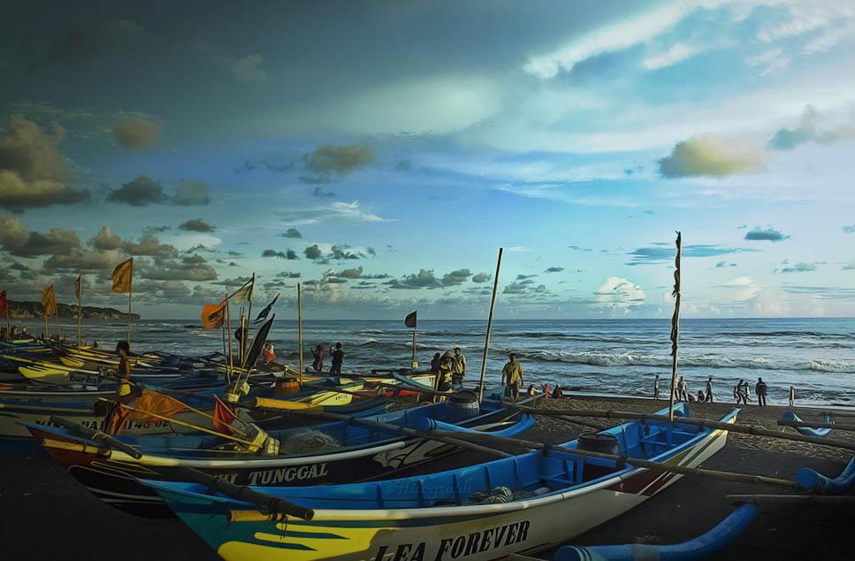 Menengok Pantai Depok Yogyakarta Liburmulu Com