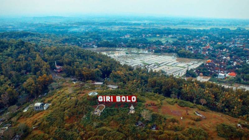 Gunung Bolo atau Giri Bolo merupakan tempat hits terbaru di Tulungagung by @anud43