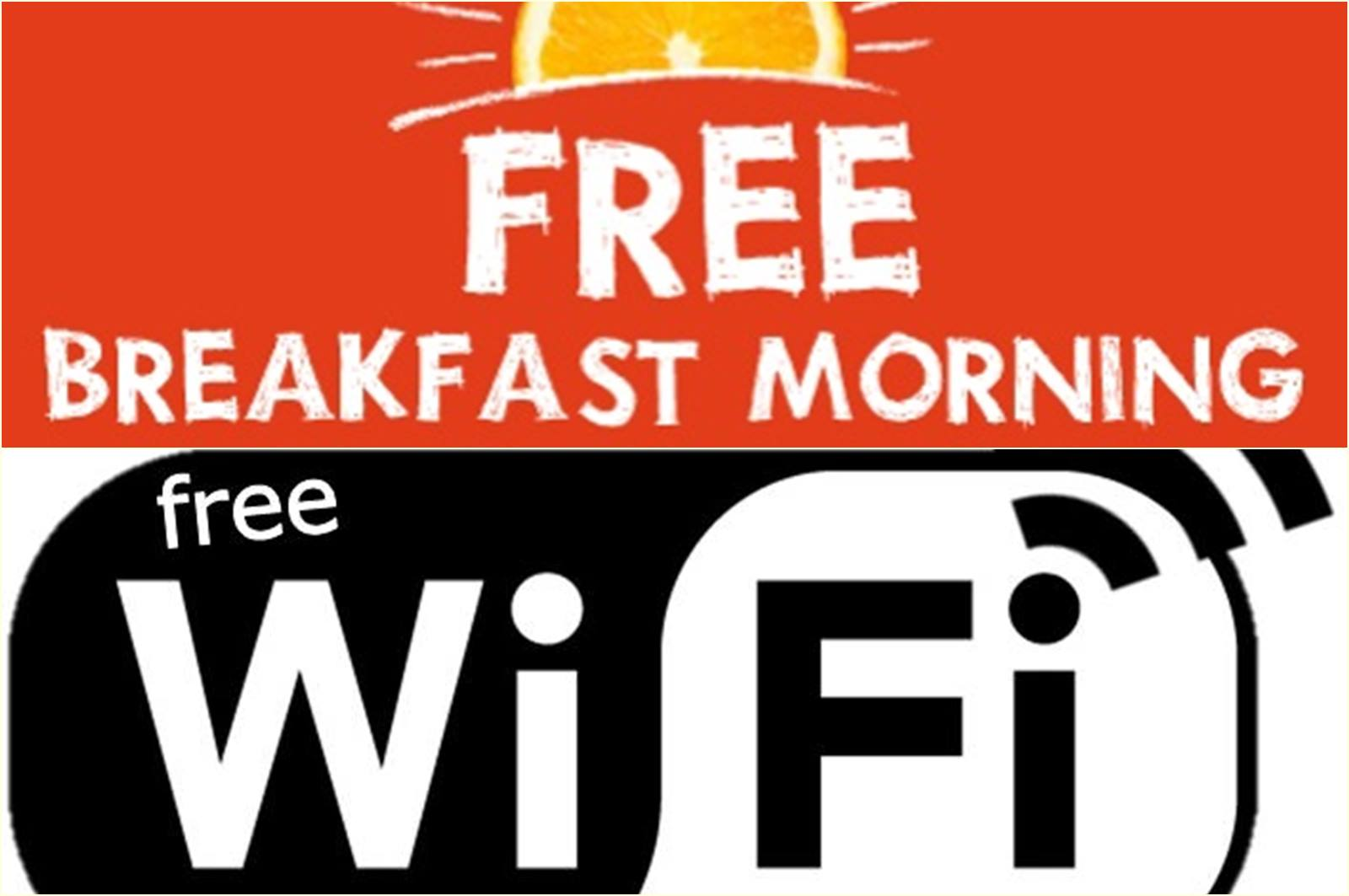 Free Wifi VS Free Breakfast?