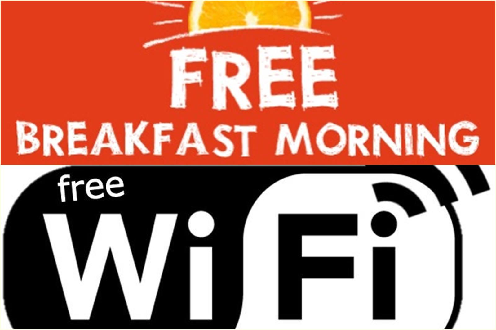 Free Wifi VS Free Breakfast?