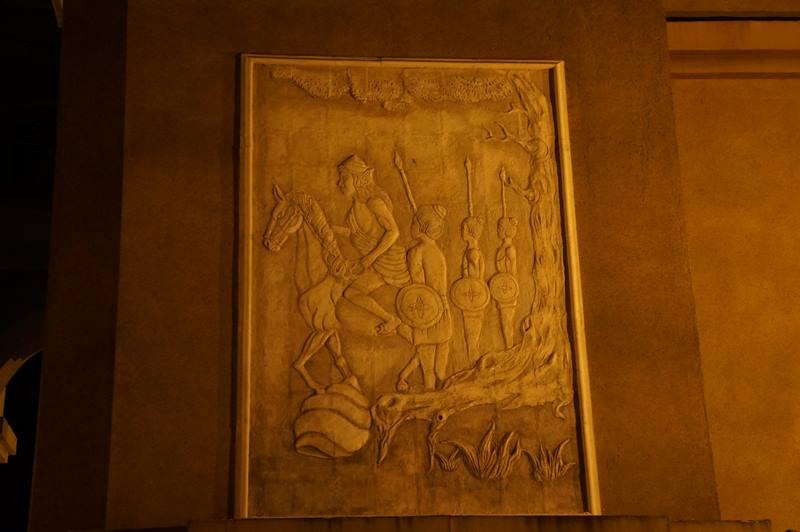 Relief dan ukiran yang ada di tiap sisi monumen (4)