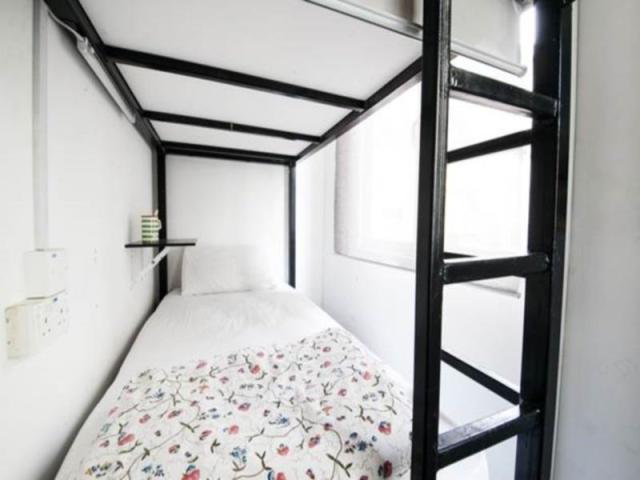 Kasur Plush Pods Hostel Singapura