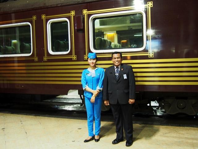 Gerbong Kereta Wisata tipe Priority