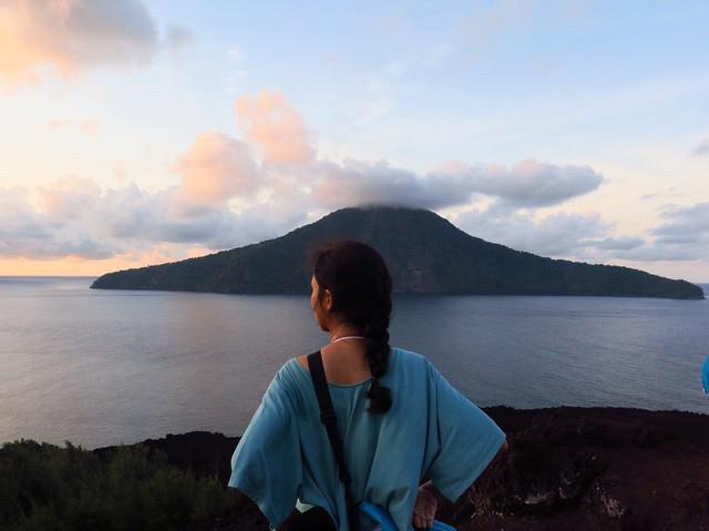 Puncak Anak Krakatau, Selat Sunda
