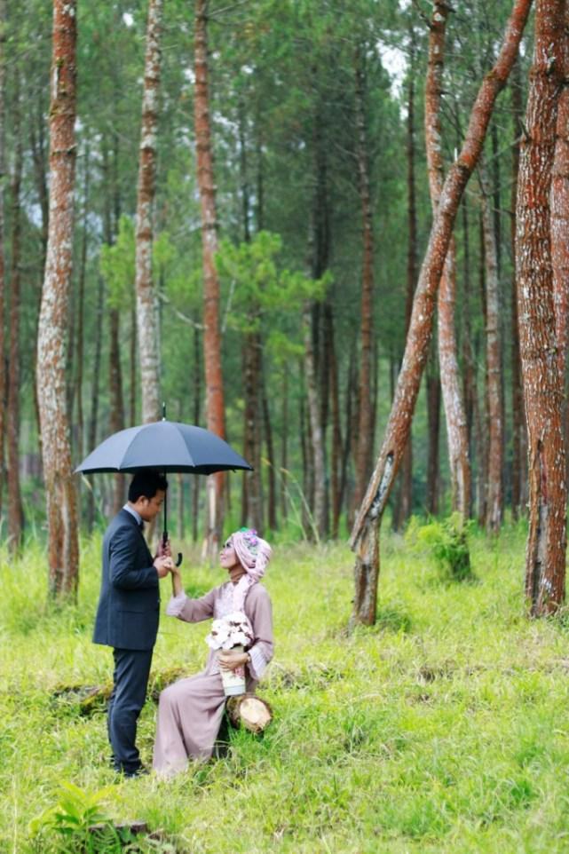 Suasana romantis di Coban Talun juga bisa jadi pilihan