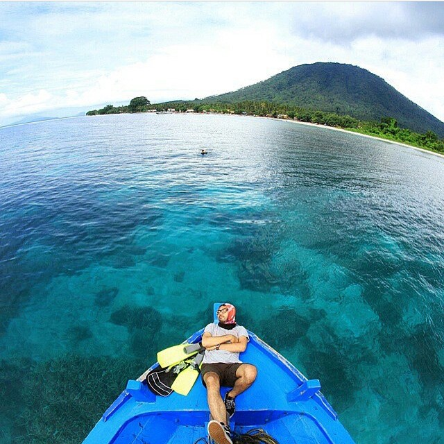 Snorkeling Point, Gunung Anak Krakatau, Selat Sunda