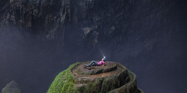 Son Doong Cave skyhole by John Spies