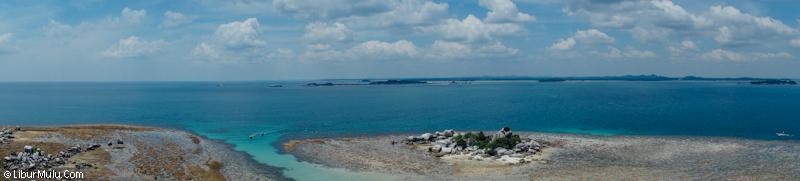 Datanglah ke pulau ini ketika sedang cerah