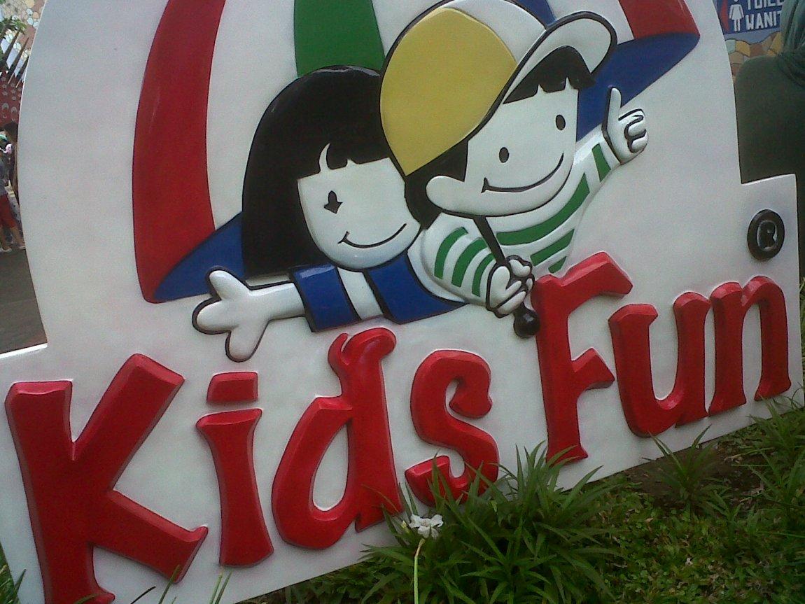 Kid Fun juga merupakan salah satu waterpark di Yogyakarta