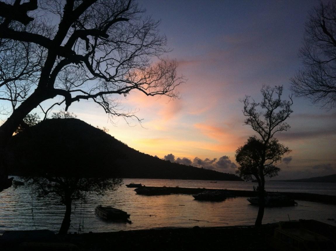 Senja di Tidore