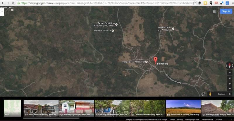 Peta Lokasi Situ Cilembang A.K.A Situ Biru Sumedang, Danau Berwarna Biru Dari Sumedang!