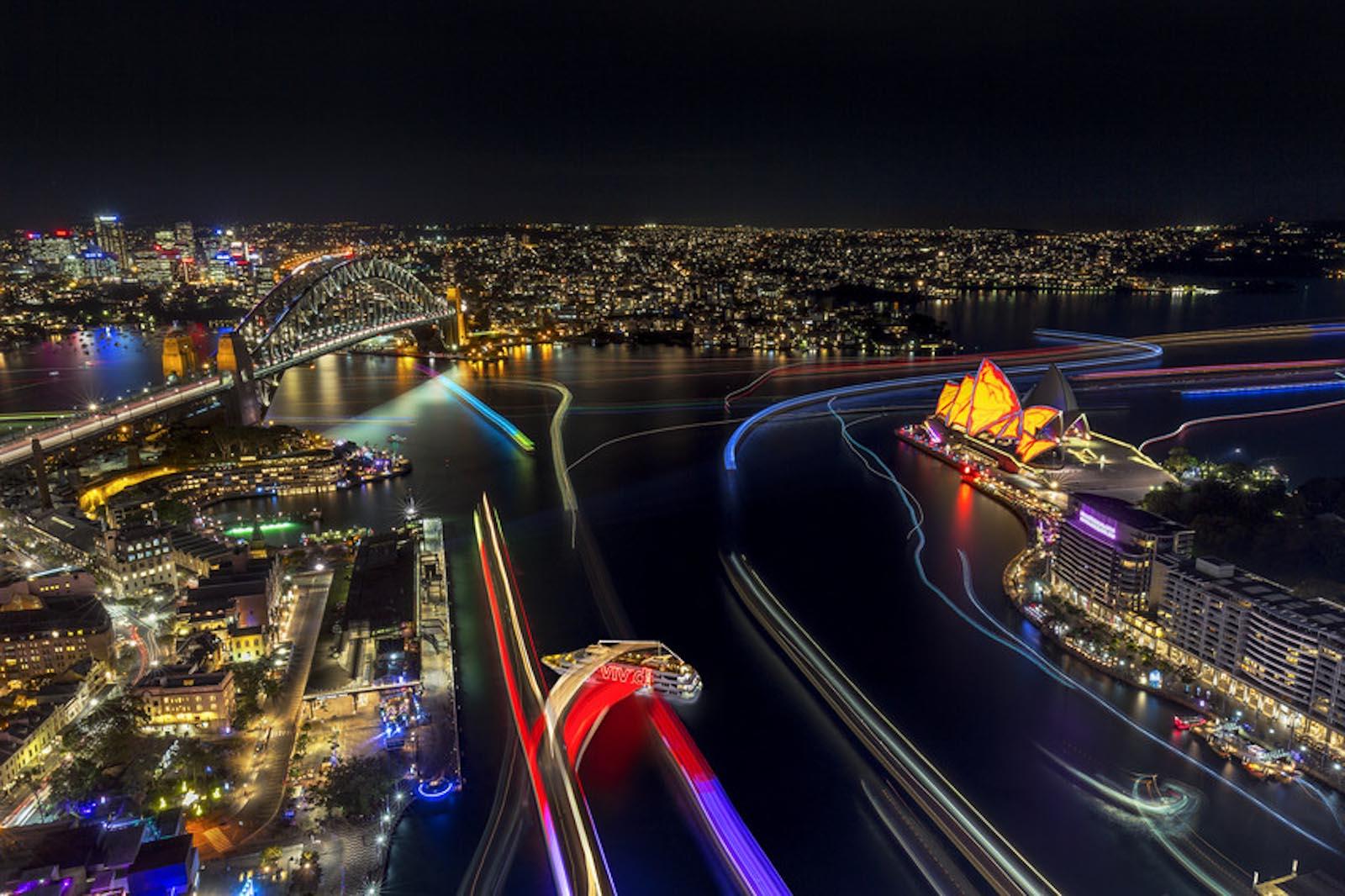 Vivid Sydney, salah satu acara yang menarik selain kembang api tahun baru