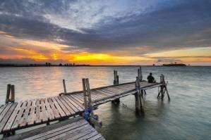 Pantai Marina, Semarang by IG @rinttos