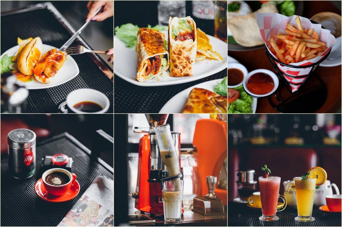 Beberapa menu di Golden Heritage Koffie Malang via @ghkoffie