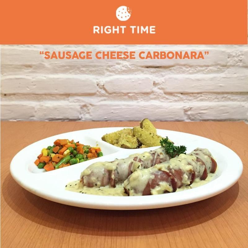 Jangan lupa cobain menu makanan disini ya via @righttimecafe