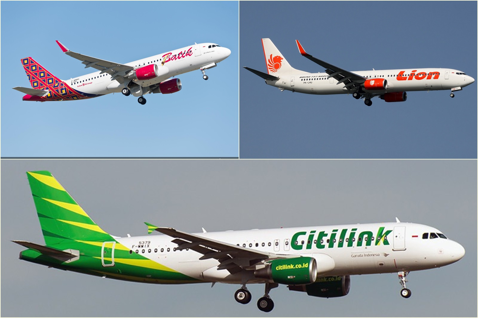 Wah! Lion Air, Batik Air, dan Citilink Diizinkan Untuk Terbang Ke Eropa!!