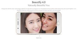 Salah satu fitur andalan OPPO F1s, Beautify 4.0