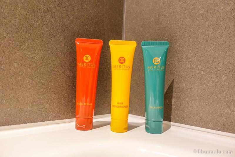 Shampoo dan sabun untuk mandi