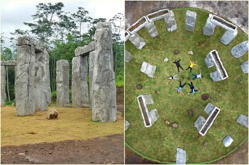 Stonehenge Ala Sleman! Kalian Nggak Perlu Jauh-Jauh Lagi Ke Inggris Deh!