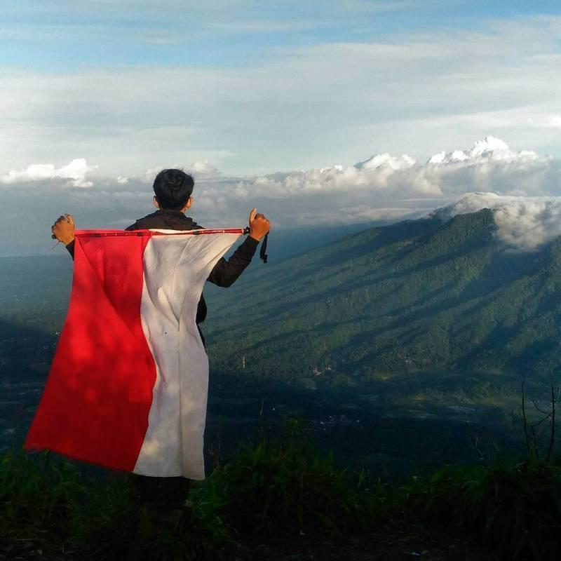 Gunung Pulosari Di Banten Dengan Ketinggian 1.346 mdpl by IG @rizkymay41