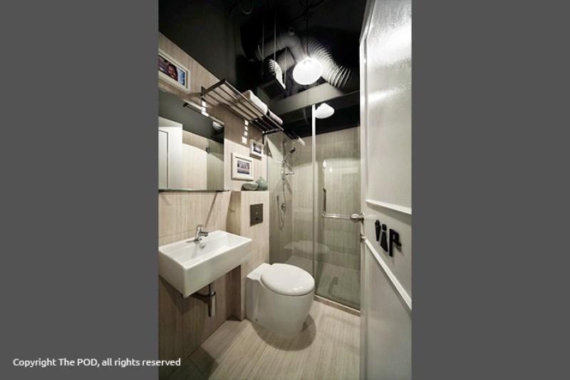 Kamar mandi the Pod yang bersih