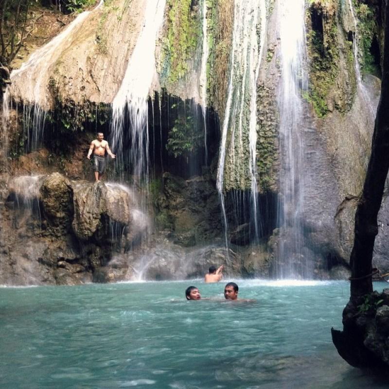 Air terjun Alas Kandung cocok untuk yang suka berenang by @kitwakit