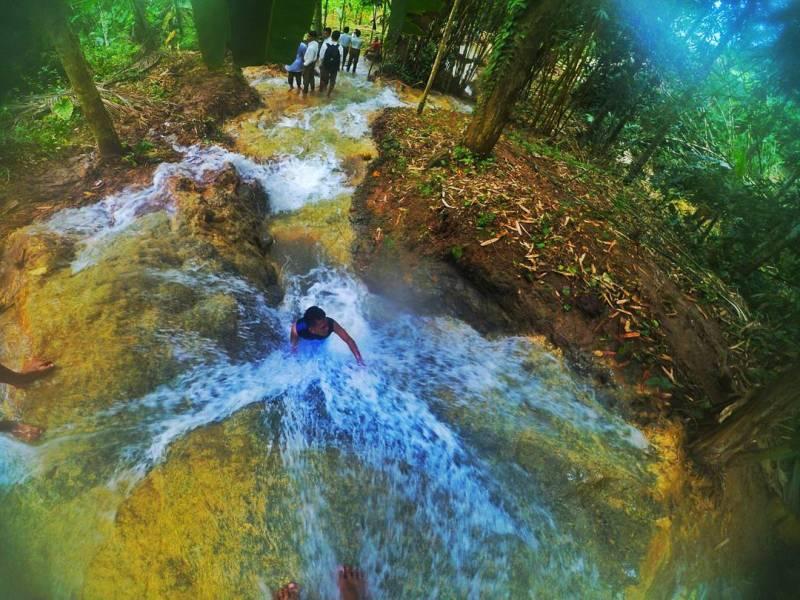 Kali mas ini berada di desa wisata sebalor Bandung - Tulungagung by @simonz_22_santoso