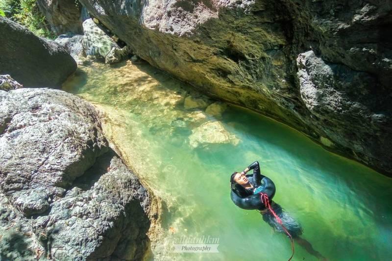 Kedung Dawuhan adalah nama lain dari Kedung Tritis wisata kolam alami di Tulungagung ini by @wildanhkm